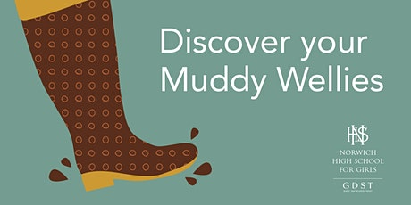Discover your Muddy Wellies: live event for parents and girls aged 3-5 tickets