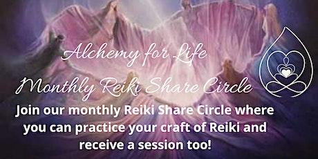 Reiki Share Circle tickets