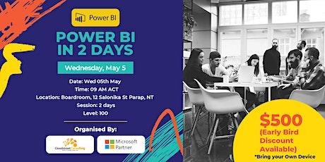 Darwin Power BI 2 Day (Intensive) tickets