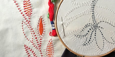 Designs That Travel: Embroidery Workshop Using Techniques from Bangladesh tickets