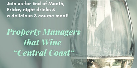 Property Managers that Wine Central Coast tickets