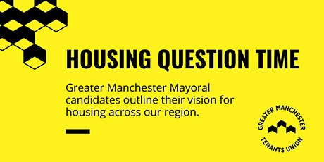 Housing Question Time tickets