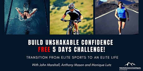 Elite Sports to an Elite Life  Free 5 Day Challenge tickets