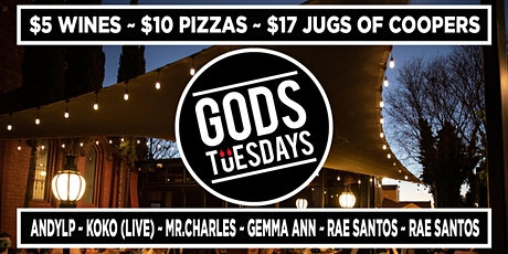 Gods Tuesdays - May 11th tickets