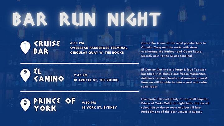 Bar Run Night - Parea image