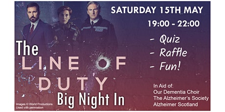 The Line of Duty Big Night In Tickets