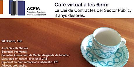 Cafè virtual: La Llei de Contractes del Servei Públic LCSP 3 anys desprès entradas
