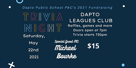 Dapto Public School Trivia Fundraiser tickets