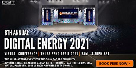 Digital Energy Virtual Summit 2021 entradas