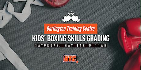 Kids' Boxing Skills Grading tickets
