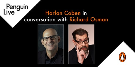 Harlan Coben in conversation with Richard Osman tickets