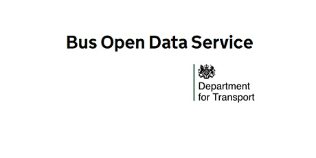 Drop-in session - Bus Open Data Service - Free DfT Timetables Tool tickets