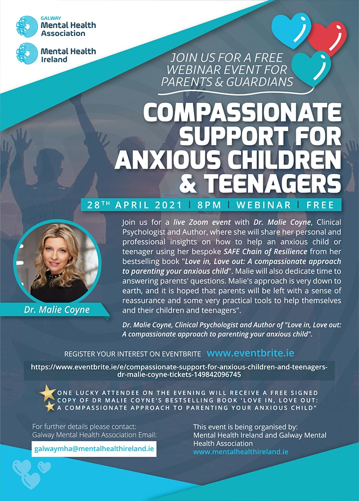 Compassionate support for anxious children and teenagers -Dr Malie Coyne image