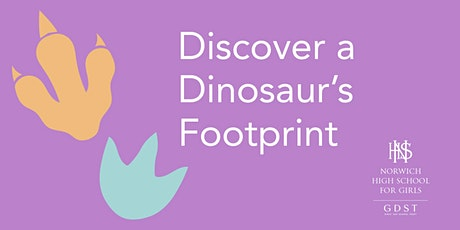 Discover a Dinosaur's Footprint: live event for parents and girls aged 3-5 tickets