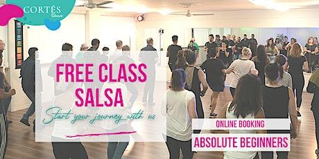 SALSA / FREE CLASS tickets