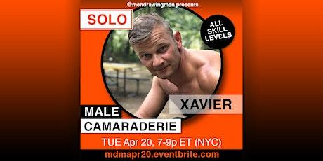Men Drawing Men (ONLINE)TUE Apr 20(7-9p ET NYC) tickets