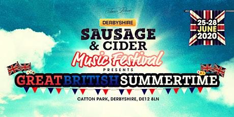 Derbyshire Sausage & Cider Music Festival billets