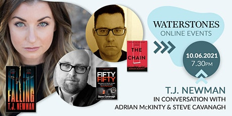 T. J. Newman in conversation with Adrian McKinty and Steve Cavanagh tickets