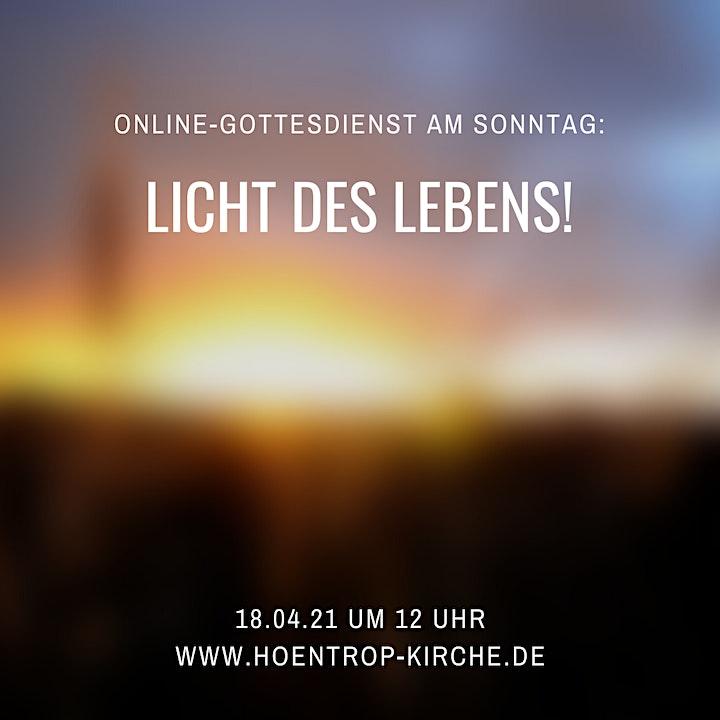 Licht des Lebens: Online-Gottesdienst am 3. Ostersonntag: Bild