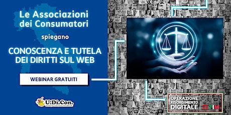 UDICON - Conoscenza e tutela dei diritti sul web biglietti