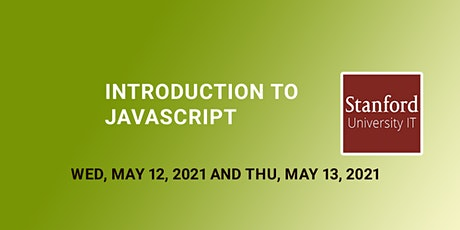 Online Introduction to JavaScript tickets