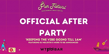 The Pier Festival Official After Party tickets
