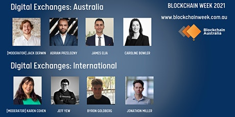 DAY 2 - Digital Currency Exchanges - International & Local Perspectives tickets