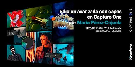 Aprende a editar por capas con María Pérez-Cejuela. Nivel Avanzado boletos