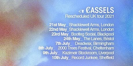Cassels - Sheffield tickets