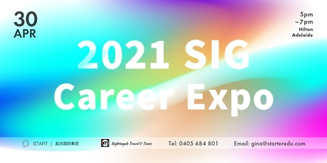 2021 SIG Career Expo tickets