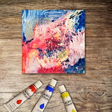 Craft & Chat: Painting with acrylics - texture and abstract tickets