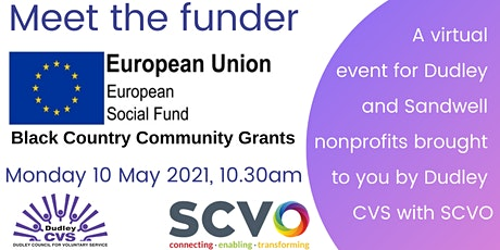 Meet the funder - ESF Black Country Community Grants tickets