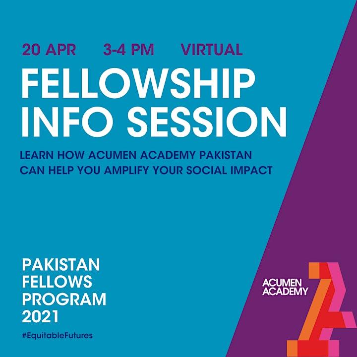 Pakistan Fellowship Info Session image