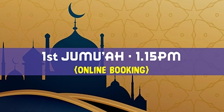 1st Jumu'ah Prayer|1.15 PM|16th April2021|English|Sheikh Thalha Siddiq tickets