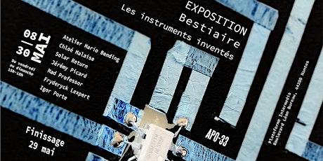 Exposition Bestiaire-Les instruments Inventés billets