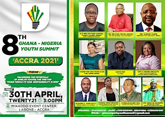 8TH GHANA NIGERIA YOUTH SUMMIT tickets