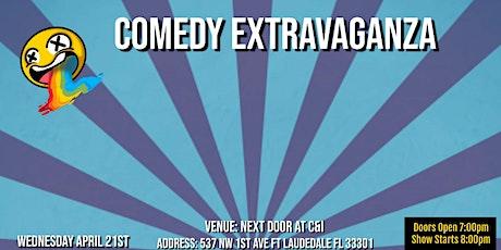 """Comedy Extravaganza at """"Next Door C&I"""" tickets"""