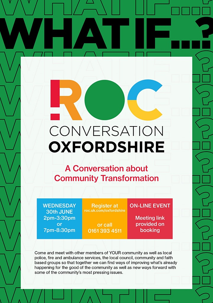 ROC CONVERSATION: Oxfordshire image