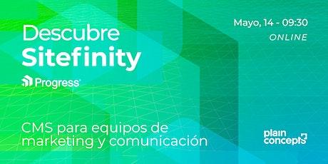 Descubre Sitefinity: el CMS para equipos de marketing y comunicación entradas