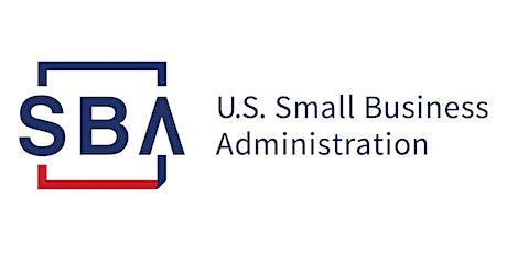 2021 SBA COVID-19 Economic Relief Overview tickets