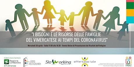 Presentazione Indagine Progetto Skilled Families biglietti