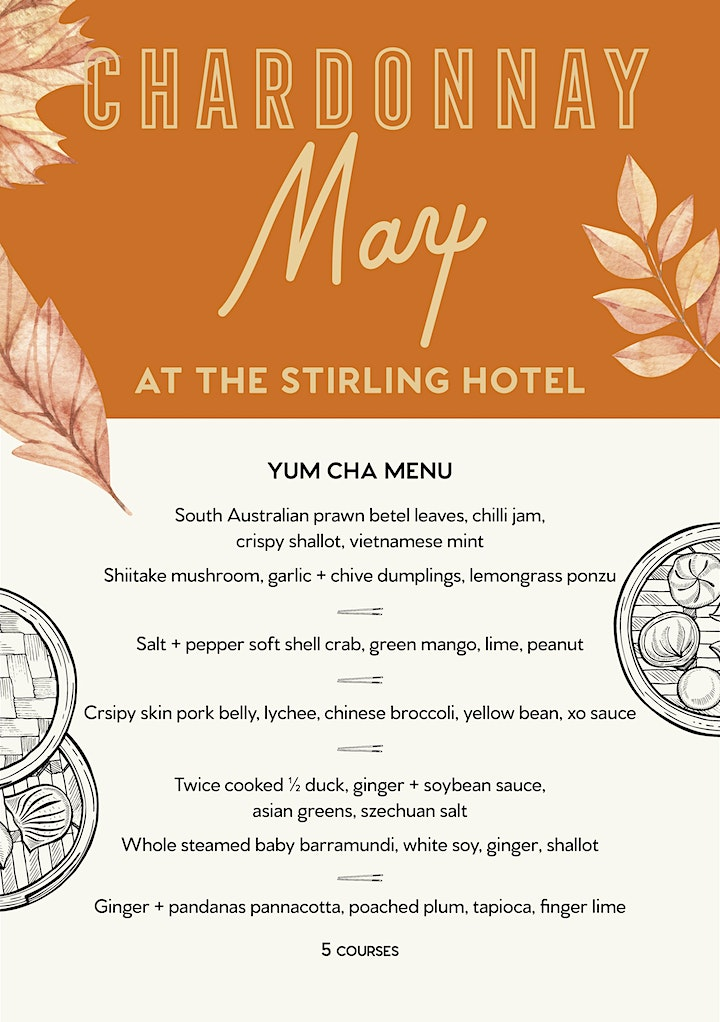Chardonnay Long Lunch at the Stirling Hotel image