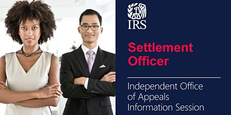 Information Session on Settlement Officer Jobs with Appeals tickets