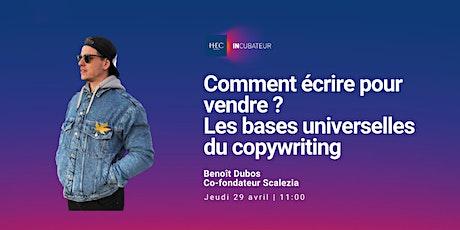 Comment écrire pour vendre ? Les bases universelles du copywriting. billets