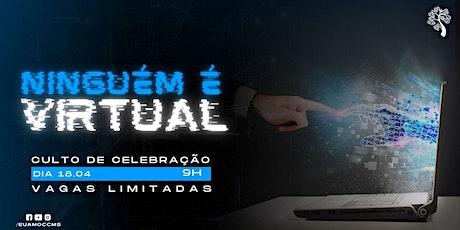 CELEBRAÇÃO 18.04 ÀS 9H ingressos