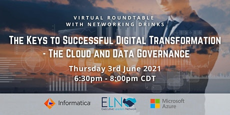 The Keys to Successful Digital Transformation The Cloud and Data Governance tickets