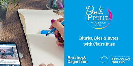 Pen to Print: Book Surgery with Claire Buss tickets
