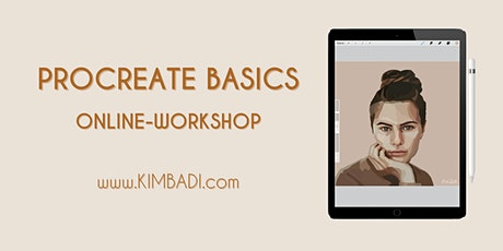 Procreate Basics Online-Workshop - Digitales Zeichnen - Kim Badi Tickets