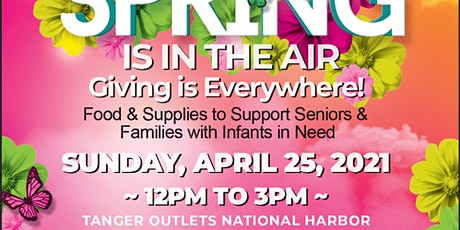Spring Is In The Air: Giving Is Everywhere Food  and Supply Drive tickets