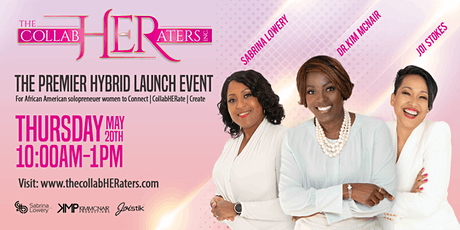 The CollabHERaters Premier Launch Event tickets